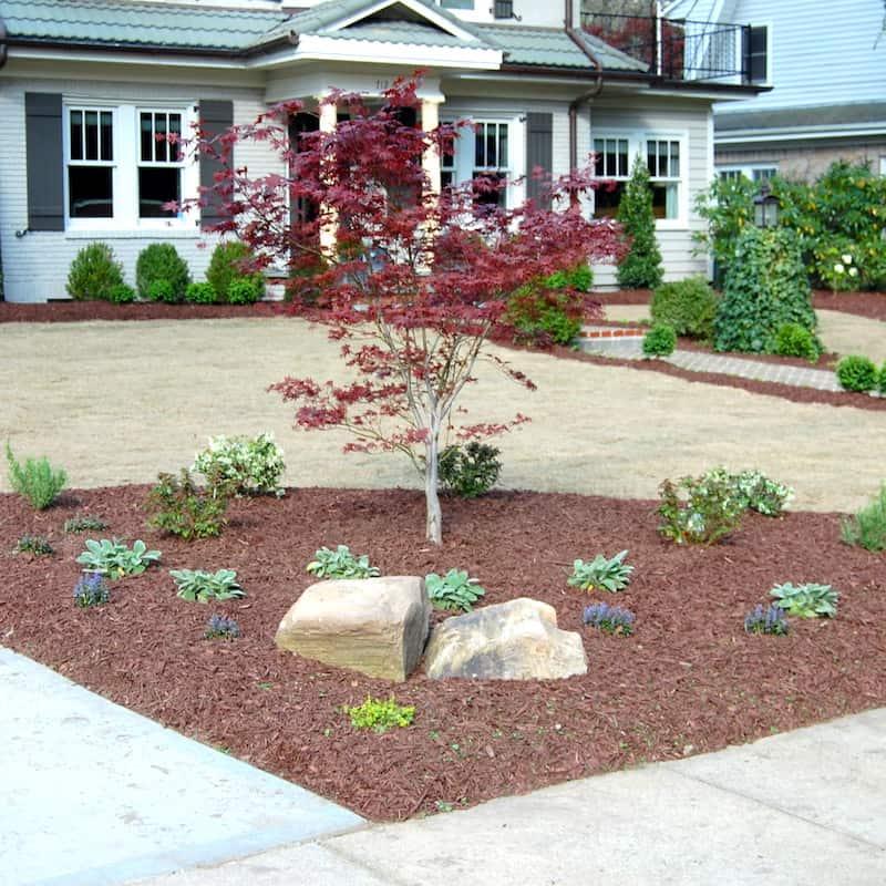 justgreen lawn care mulch